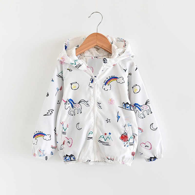 Babyinstar meninos casacos 2020 primavera & outono crianças verão estilo bonito impressão com capuz jaquetas fruta impressão casacos crianças outwear para a menina