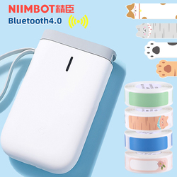 Niimbot D11 Wireless Label Printer Portable Pocket Label Printer Bluetooth Thermal Label Printer Fast Printing Home Office Use