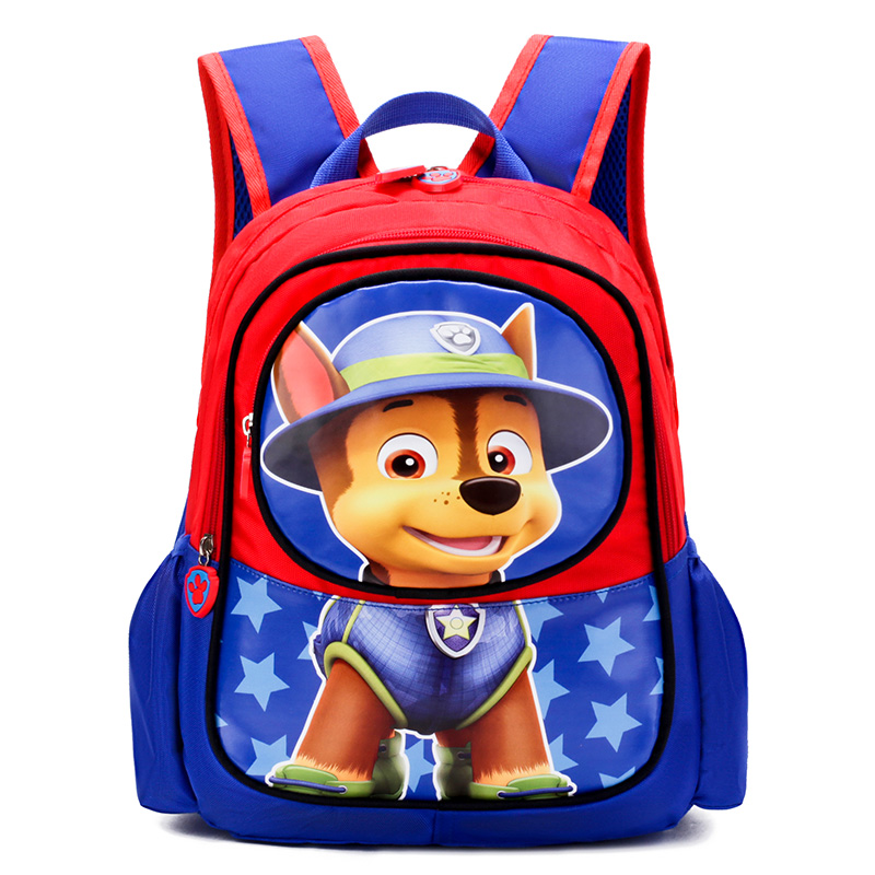 Paw Patrol Bag Children's School Cartoon Bag 3D Print Animal Character Puppy Patrol Backpack Kindergarten Kid Toy Anime Figure image