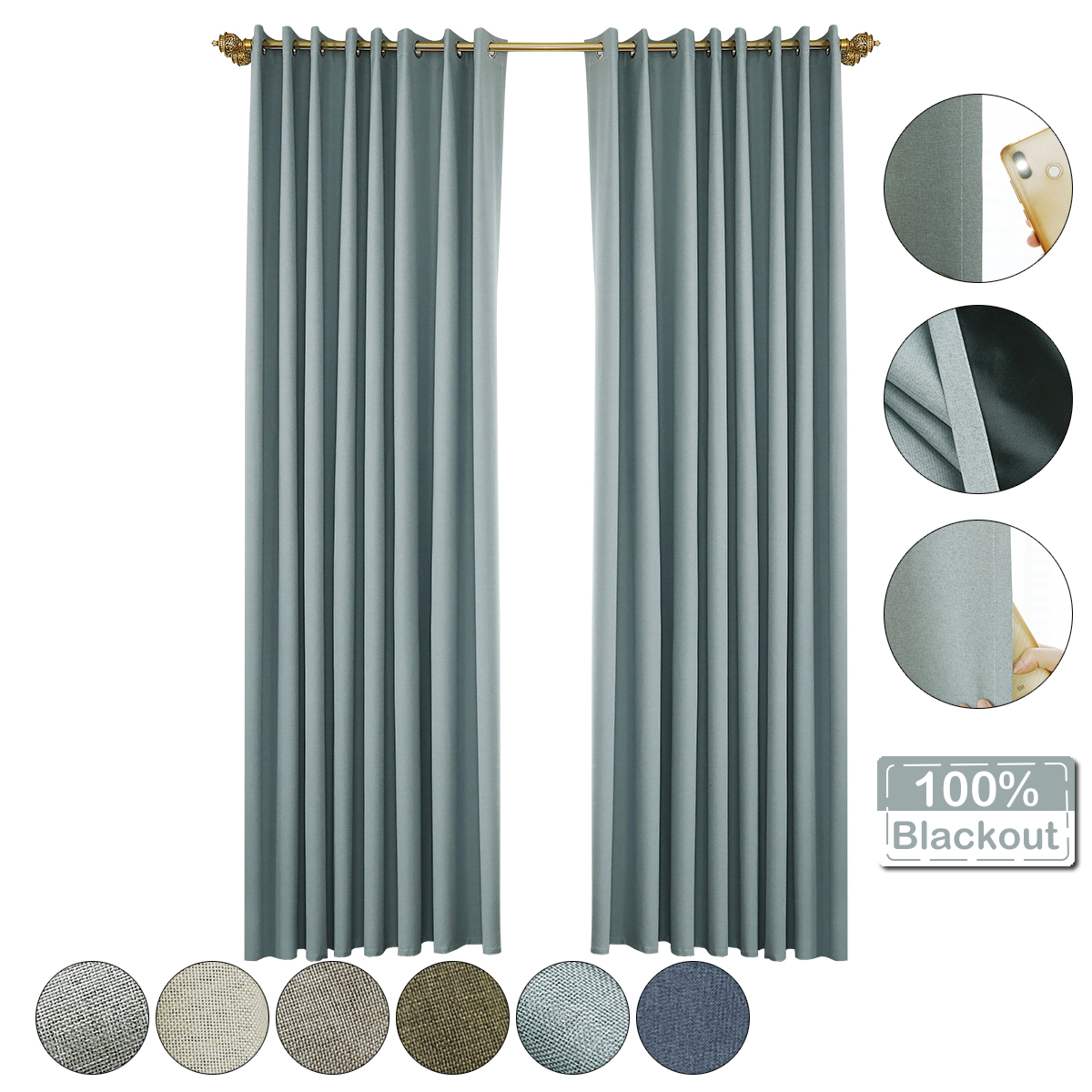 Top 10 Most Popular Thermal Blackout Curtains For The Bedroom Brands And Get Free Shipping A934