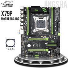 JINGSHA X79P X79 anakart LGA2011 ATX USB3.0 SATA3 PCI E NVME M.2 SSD desteği REG ECC bellek ve Xeon E5 işlemci