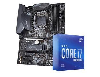 Gigabyte Z490 GAMING X computer motherboard+I7 10700K I9 10900K CPU motherboard+CPU set