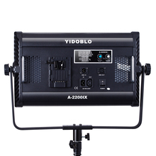 Yidoblo 70W A-2200IX LED Panel Day light Cold color LCD Display Video Lighting Pro photography