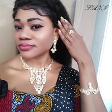 Fani ślub nigeryjski kobieta akcesoria zestaw biżuterii hurtownia mody włoski zestaw biżuterii ślubnej dubai złoty zestaw biżuterii kolor tanie tanio Ze stopu cynku Dziewczyny Zakochanych Unisex Kobiety Metal TRENDY bjs229 Necklace Earrings Bracelet Ring Naszyjnik kolczyki bransoletka