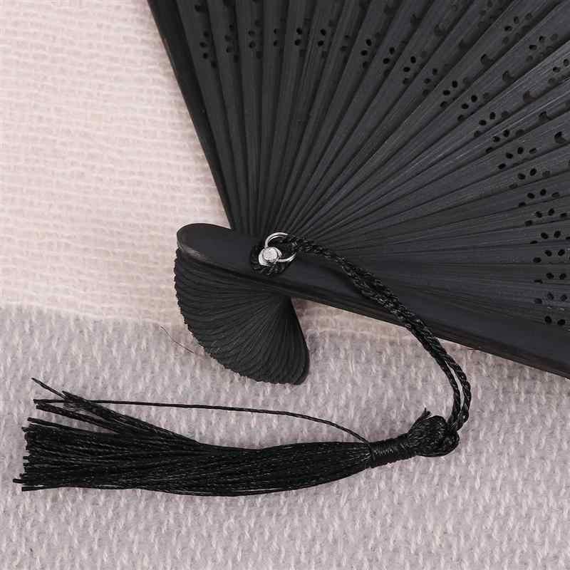 エレガントな桃蝶扇子古代和風さくらファンヴィンテージ花ファン夏の装飾