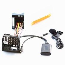 150CM 6000CD Stereo Bluetooth aux-in Audio kabel telefoniczny wywołanie zestawu głośnomówiącego Adapter do wiązki kabli do 6000 CD Ford Focus Mondeo