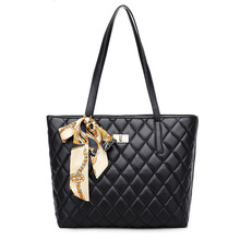 New hot lingge shoulder bag designer bags for women 2018 large capacity female PU leather soft Thanksgiving mother package