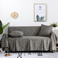 Sofa Cover Cotton Linen Sofa Towel Slipcover Sofa Covers For Sofa 1/2/3 Furniture Living Cover Couch Protect Funda Room Seater