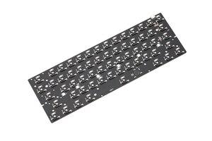 Image 3 - bm60rgb bm60 poker rgb 60% gh60 hot swappable Custom Mechanical Keyboard PCB program qmk full rgb switch underglow type c