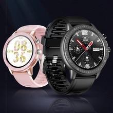 SENBONO reloj inteligente deportivo S02 para hombre y mujer, completamente táctil, IP67, resistente al agua, con control del ritmo cardíaco y de la presión sanguínea, 2020