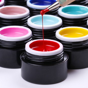 New Free Shipping Nail Art Design Manicure Venalisa 11Color 5Ml Soak Off Enamel Gel Polish UV Gel Nail Polish Lacquer Varnish