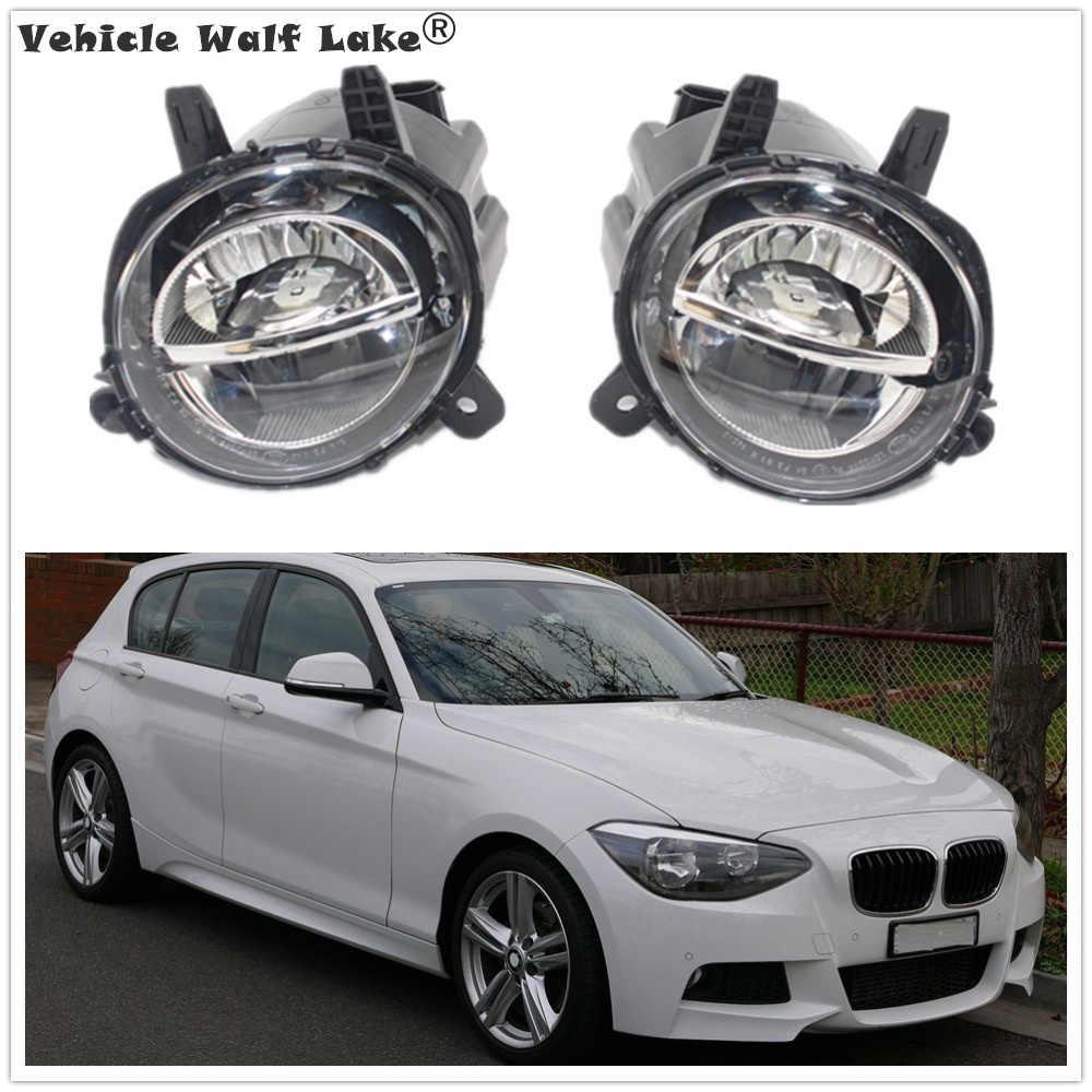LED سيارة مصابيح لسيارة BMW F20 LCI F21 LCI 114i 116i 118i 120i 125i 114d 116d 118d 120d 2012-2018 الجبهة LED DRL الضباب مصباح الضباب ضوء