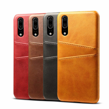 NTSPACE Retro Leather Case for Huawei P30 P20 Pro Vintage Wallet Protective Cover For P Smart 2019 Lite Phone Bag