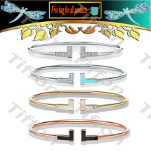 Women Bracelet Opening Zircon accessories Enamel classical f