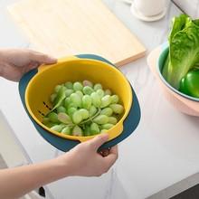 Полезный двойной дренажная корзина для мытья чаши кухонное ситечко лапша овощи фрукты подарок фрукты кухонный гаджет дропшиппинг