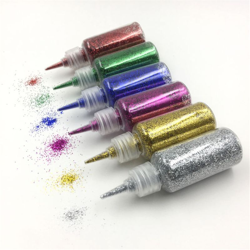 30g Glitter Powder Sequins Filler Clear/Fluffy Slime Toys For Clay Mud Nail Art