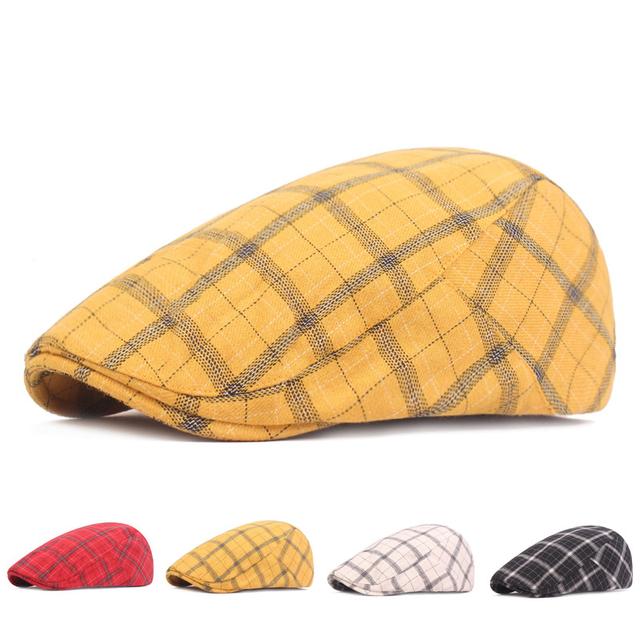 Plaid berets, Gatsby Hats