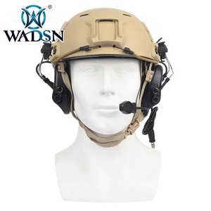 Image 2 - WADSN Sordin Headset Noise Canceling Earphone With FAST Helmet Rail Adapter Set For Military Airsoft Hunting Headphone WZ034