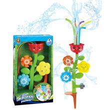 Sprinkler-Flower Toy Splash Water-Spray Summer Outdoor for Kids Lawn Yard