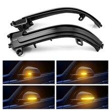 LED الجانب الجناح مرآة الرؤية الخلفية المؤشر الوامض مكرر الديناميكي بدوره إشارة مصابيح لسيارة BMW F20 F21 F22 F30 E84 1 2 3 4 سلسلة
