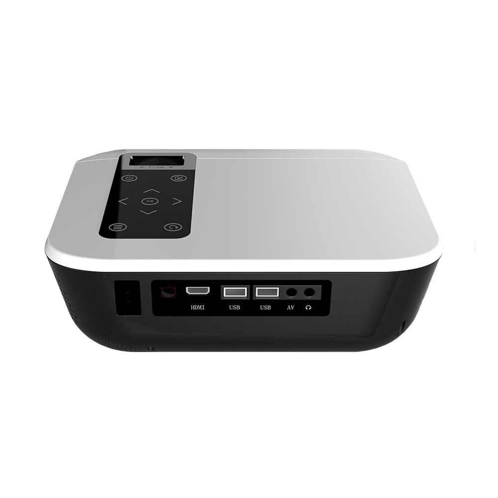 ALSTON T8 풀 HD 1080p 프로젝터 4k 5000 루멘 시네마 Proyector 비머 HDMI USB AV 선물