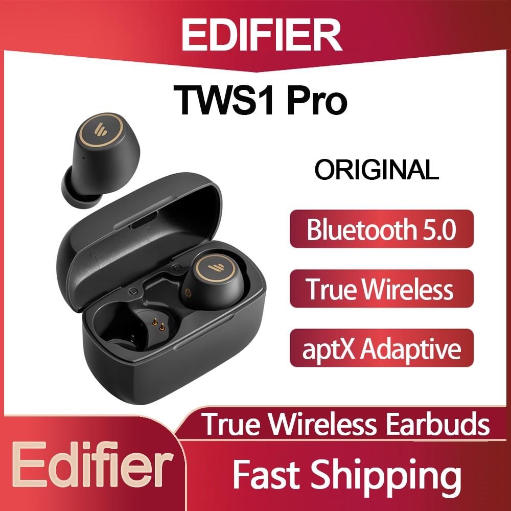 TWS-наушники Edifier TWS1 Pro с поддержкой Bluetooth 5,2 и функцией быстрой зарядки