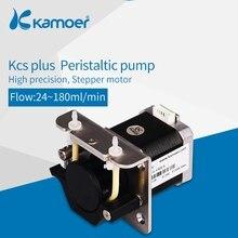 Kamoer KCS плюс 12 V/24 V Микро перистальтический насос водяной насос с шаговый двигатель малая лабораторная мельница