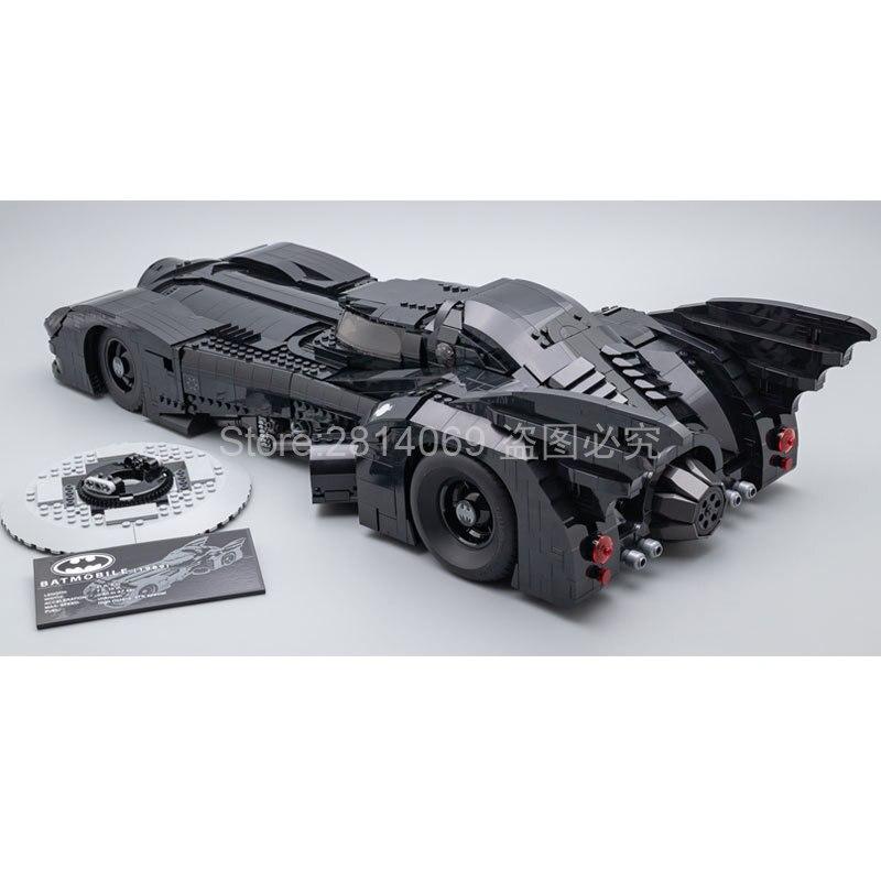 In Stock 59005 Es 1989 Batmobile Model 3856Pcs Building Kits Blocks Bricks Toys Children Gift Compatible 76139 Batman