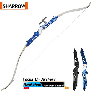 """1 Set RH/LH 66""""/68""""/70"""" Archery Takedown Recurve Bow 14-42lbs Black/Blue Outdoor Shooting Practice Hunting Archery Accessories"""
