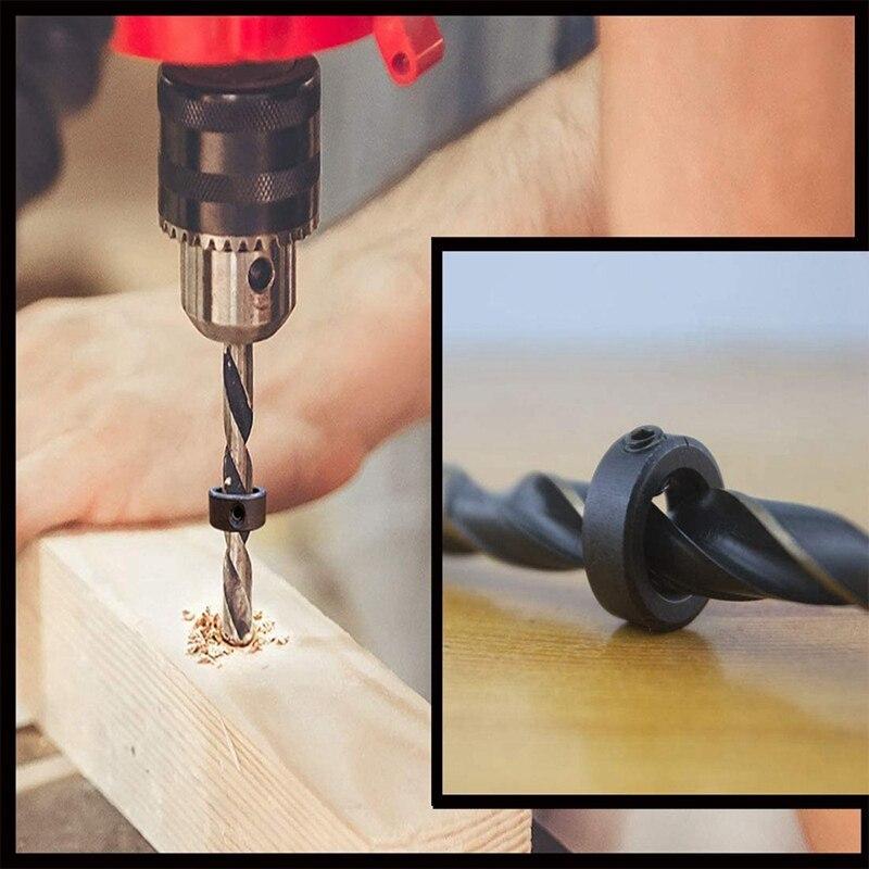 da torção, carpintaria broca broca parar coleiras