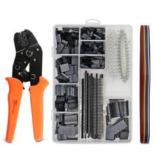 1550Pcs dupont crimpen werkzeug zange terminal crimper draht JST hand tool set Multifunktionale werkzeuge für elektrische kabel SN 28B