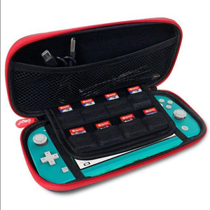Image 5 - 18 in 1 Accessories Kit For Nintend Switch Lite Carrying Bag Case Charging Stand TPU Shell Type C Cable Tempered Screen Film