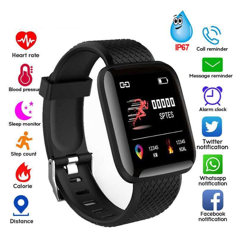 Tüketici Elektroniği'ten Akıllı Saatler'de Akıllı bilezik kalp hızı kan basıncı sağlık su geçirmez akıllı saat M3 Pro Bluetooth İzle bileklik spor izci title=