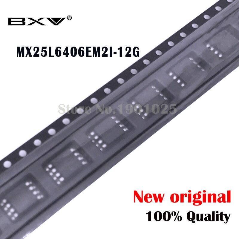 10pcs MX25L6406EM2I-12G  25L6406EM2I-12G MX25L6406E MX25L6406 25L6406E SOP-8 New Original