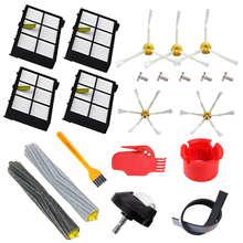 Main Side Brushes Replacement Kit for IRobot Roomba 800 805 860 861 866 870 871 880 885 966 980