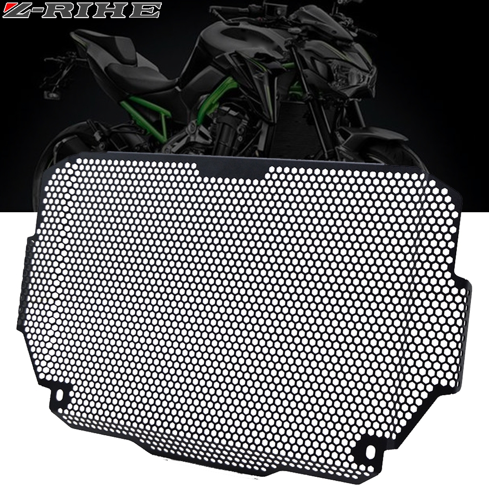 Motorcycle Radiator Guard For <font><b>kawasaki</b></font> Z900 <font><b>Z</b></font> <font><b>900</b></font> <font><b>2017</b></font> 2018 2019 Grille Engine Radiator Aluminium Protector Bezel Guard Cover image
