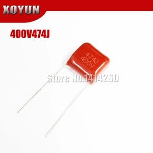 10 шт. CBB 400V474J 474J 400В шаг 10 мм CBB полипропиленовый пленочный конденсатор