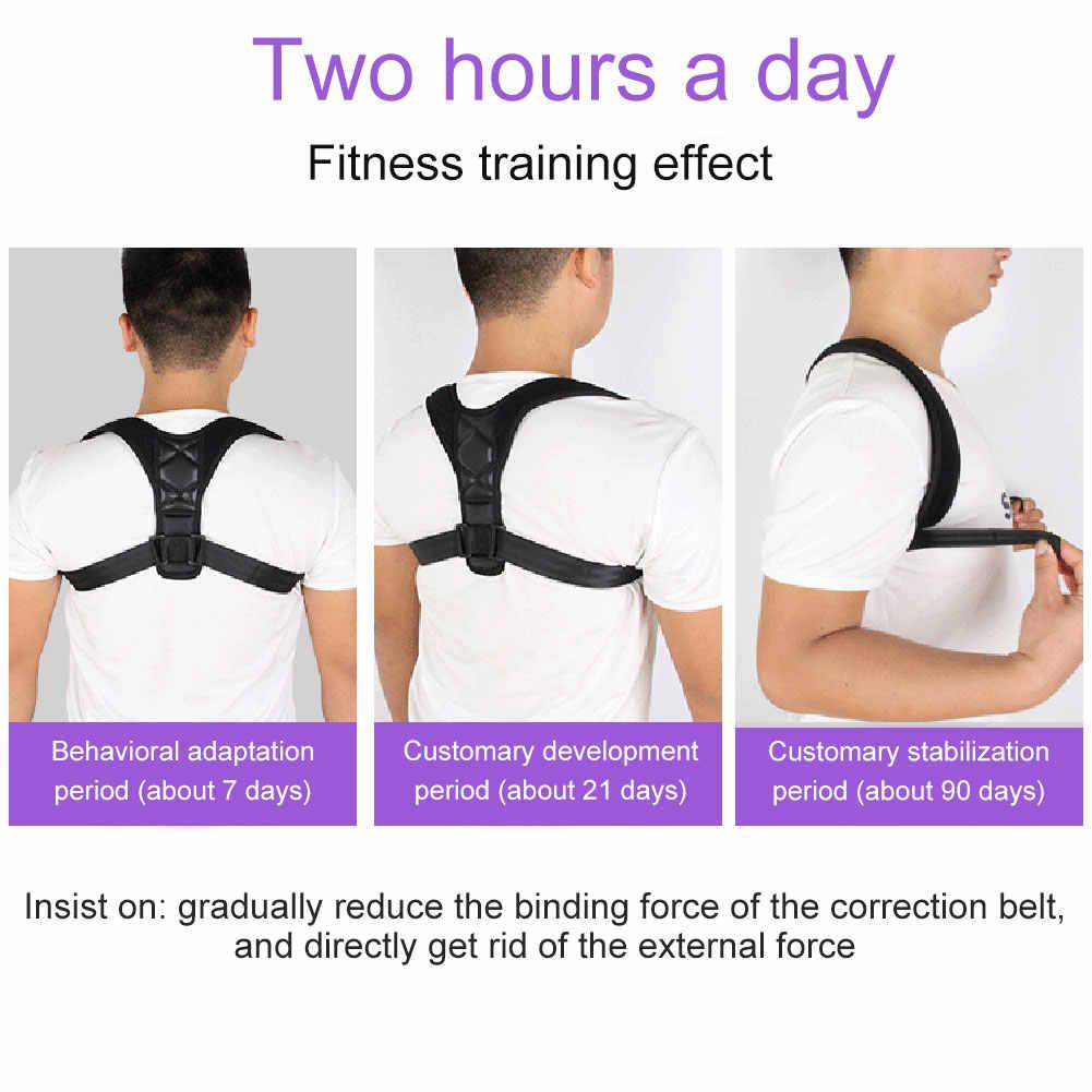 Hohe Qualität Zurück Schulter Posture Strap Unsichtbar Atmungs Erwachsene Kinder Korsett Wirbelsäule Unterstützung Gürtel M88