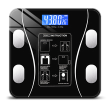 Body Fat Scale Smart Wireless Digital Bathroom Weight Scale Body Composition Analyzer With Smartphone App Bluetooth ZD