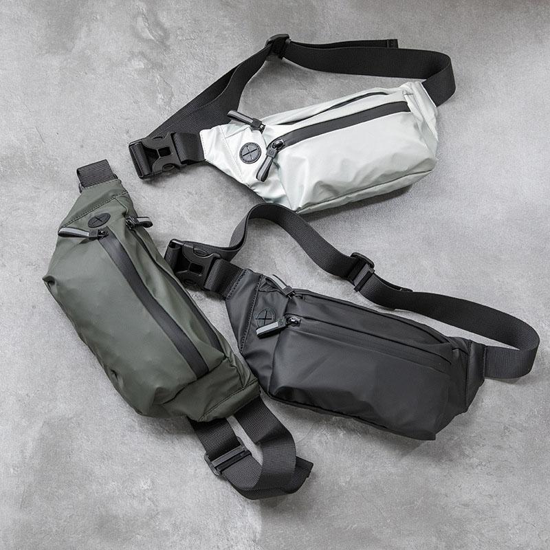 Waterproof Woman Waist Bag Fanny Pack Fashion Chest Pack Outdoor Crossbody Bag Large Capacity Unisex Belt Bags Hip Waist Packs