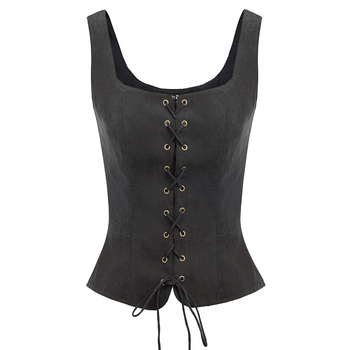 Belle Poque Women Halter Jackets Tops Summer Autumn Backless V-Neck Single Breasted Handkerchief Hem Coat Vintage Crop Tops Lady 24