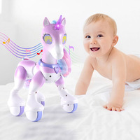 Electric Smart Horse Unicorn Toy Childrens Remote Control Children Robot Touch Induction Electronic Pet Educational Toys