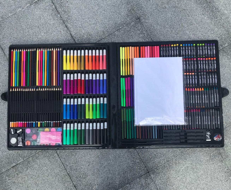 338 PCS  of watercolor pens crayon Painting tools