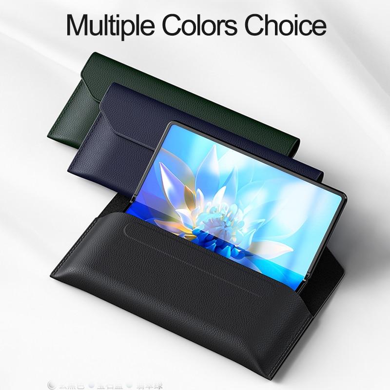 mix fold caso dobravel carteira de couro 05