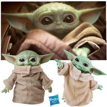Hasbro The Mandalorian Star Wars Baby Yoda 16cm PVC Action Figure Doll Toys Model Collection Toy for Children funko pop star wars figure toys darth vader luke skywalker leia action figure toys for friend birthday gift collection for model