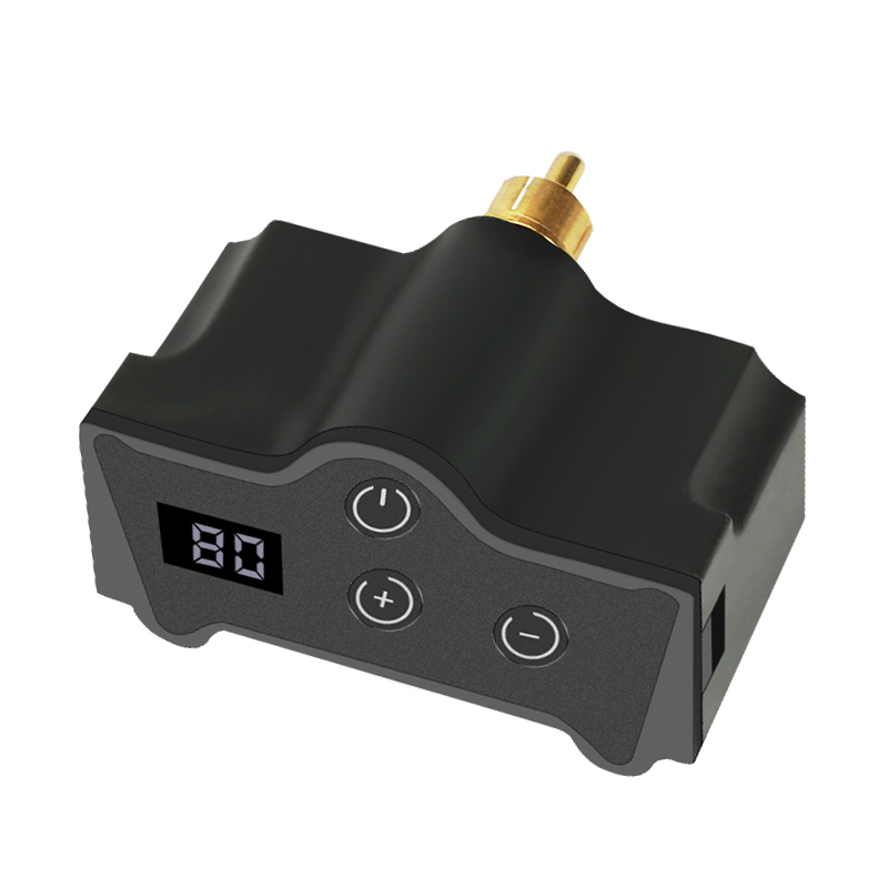 Professional  Tattoo Power Mini Wireless Upgrade Digital New Touch Tattoo Battery Rca&Dc Connector Equipment Supply