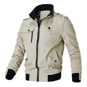 Image 4 - Mountainskin Casual Jacket Men Spring Autumn Army Military Jackets Mens Coats Male Outerwear Windbreaker Brand Clothing SA779