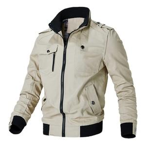Image 4 - Мужская ветровка Mountainskin, армейская Повседневная куртка в стиле милитари, верхняя одежда, весна осень 2019