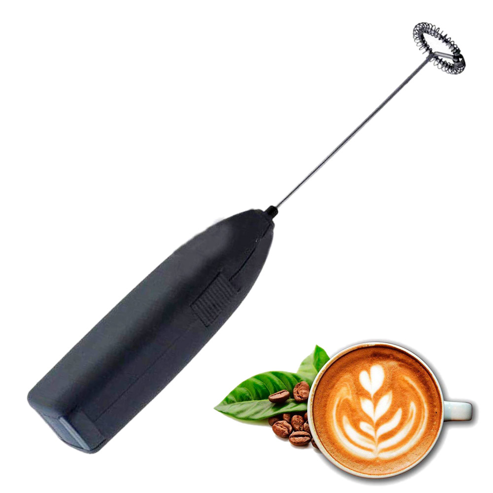 Mini Electric Whisk Coffee Blender Drinks Milk Frother Foamer Whisk Mixer Stirrer Electric Handle Cooking Tools(China)