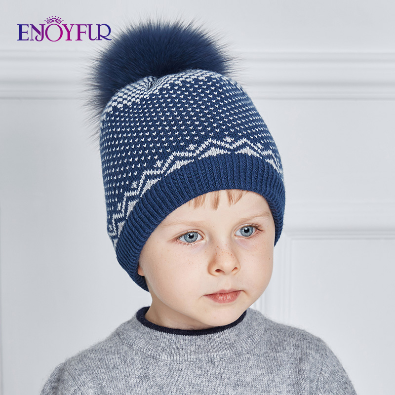 UJuly Elastic Baby Hats Autumn Winter Solid Color Baby Cap Warming Unisex Breathable Cotton Hat